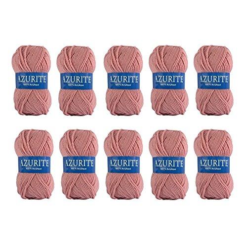 26 difusi/ón 10 ovillos de lana para tejer Distrifil AZURITE 1979 barato-1979 100/% acr/ílico