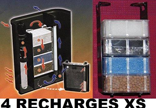 Inconnu Lot de 4 recharges pour biobox XS