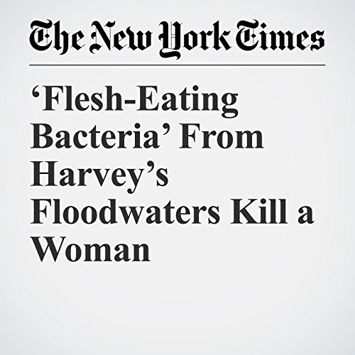 'Flesh-Eating Bacteria' From Harvey's Floodwaters Kill a Woman copertina