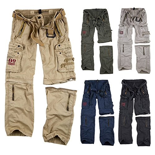 Trooper Royal Outback Trousers, Herren Cargo Hose, Royal Sahara 4XL