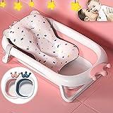 Zusammenklappbare Babybadewanne mit Ablaufloch Faltbare Badewanne für Baby & Hund Tragbare...