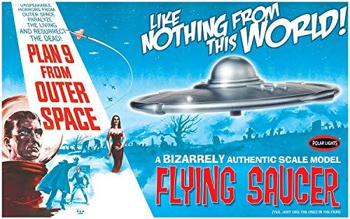 Polar Lights POL970/12 1/48 Plan 9 from Outer Space Flying Saucer Model kit