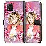 DeinDesign Étui Compatible avec Samsung Galaxy Note 10 Lite Étui Folio Étui magnétique Violetta...