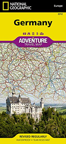 Germany: Travel Maps International Adventure Map (National Geographic Adventure Map, Band 3312)