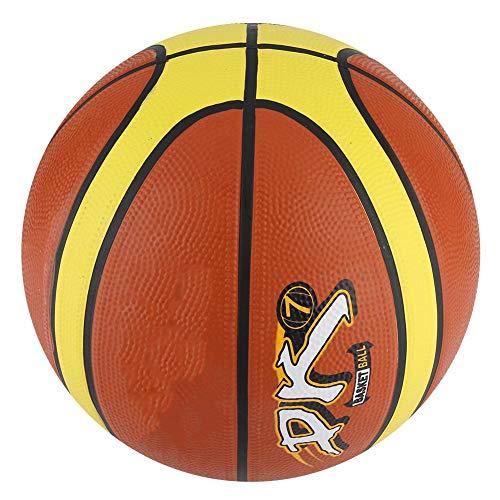 Vbest life Baloncesto Inflable, Baloncesto de Goma Inflable Miniball Entrenamiento Baloncesto Juego Deportivo Bola Colorida para Adultos Niños
