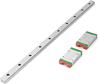 LML 15H Linear Slide Guide Rail 400mm Length with 2Pcs Extension Sliding Block Used in Precision Linear Movement Machine