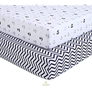 51Mn3nL+oeL._SS300_ Nautical Crib Bedding & Beach Crib Bedding Sets