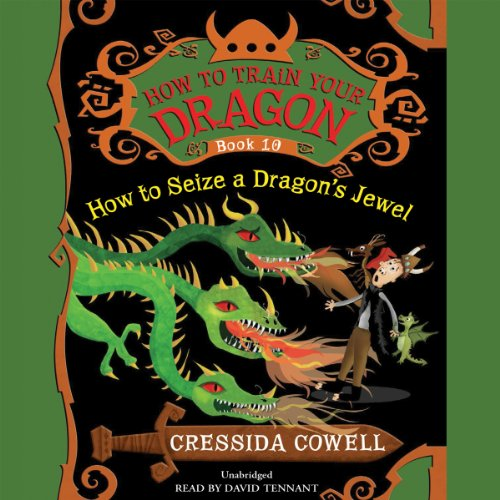 How to Train Your Dragon: How to Seize a Dragon's Jewel audiobook cover art