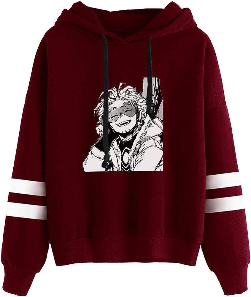 WAWNI My Hero Academia Hawks Takami Keigo Hoodie Sweatshirts Women Girl Pullover Sweatshirts