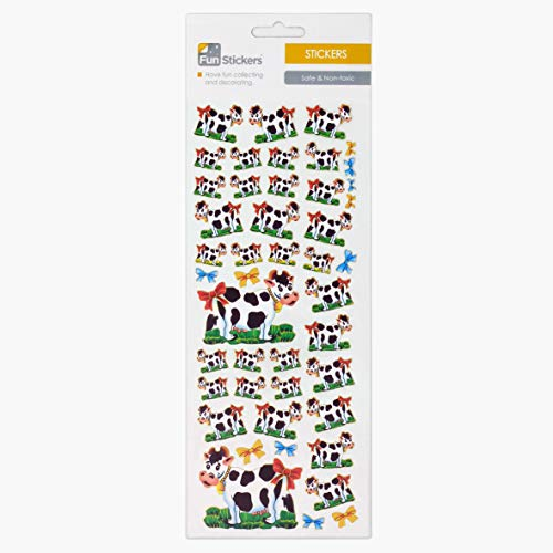 Fun Stickers Cow & Bell 618