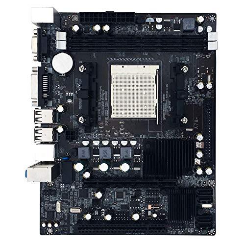 Mainboard, AMD A780 760G Mainboard Unterstützung AM2 + AM3 CPU PCI Express X16 Erweiterungssteckplätze Mainboard, Dual-Channel-DDR2