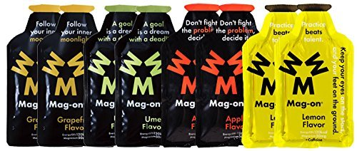 Mag-on (マグオン) エナジージェル おためし4味各2ケ新味計8個セット