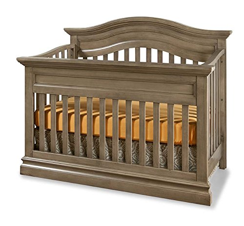 Westwood Design Stone Harbor 4 in 1 Convertible Crib, Cashew
