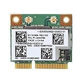 ASHATA Scheda di Rete Mini PCI Expression BCM943228HMB, 2,4G / 5Ghz 300Mbps Supporto di Scheda Wireless PCI-E a Doppia Banda Mini Bluetooth 4.0 per Win7 / 8/10