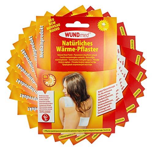 Wundmed Warmtepleister / pijnpleister 13cm x 9,5cm in voordeelverpakking 10er Pack