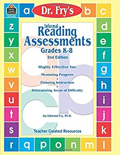 Informal Reading Assessments by Dr. Fry (Dr. Fry's Informal Reading)