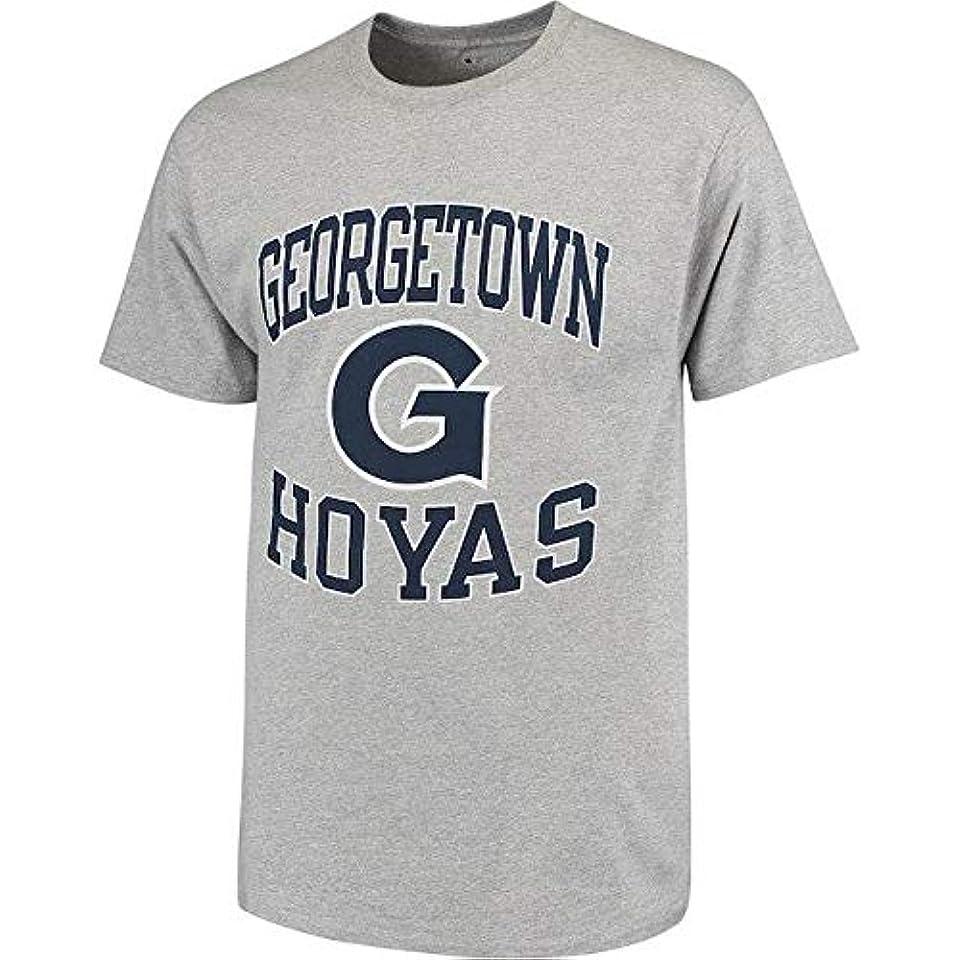 封建モーテルスペクトラムChampion Champion Georgetown Hoyas Gray Tradition T-Shirt スポーツ用品 【並行輸入品】