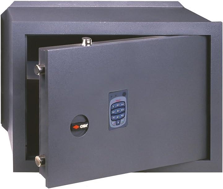 Cassaforte dgt vision da murare con combinatore elettronico cisa 2717620