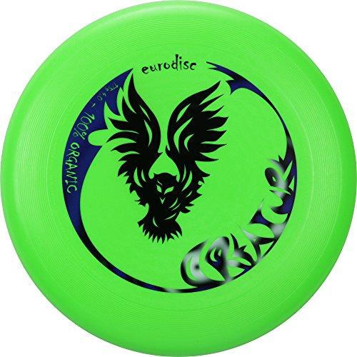 Eurodisc 175g 4.0 Organic Ultimate Frisbee Creature NEONGRÜN Wettkampfharte Sportflugscheibe