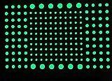 Zhinanhui 202 pcs/Set 3D Bubble Luminous Stars Dots Etiqueta de la Pared habitación de los niños Dormitorio decoración del hogar calcomanía Que Brillan en la Oscuridad Pegatinas de Bricolaje