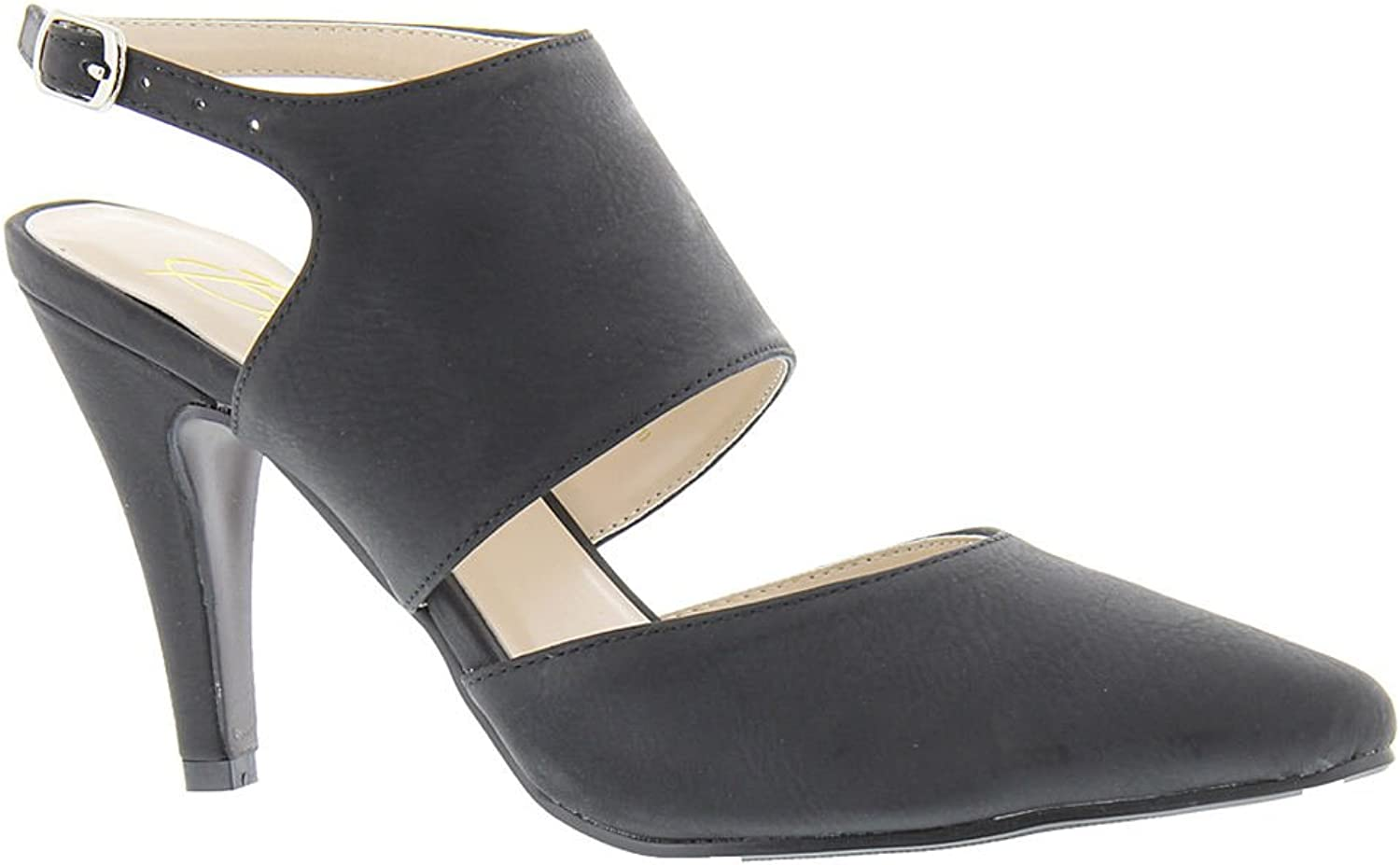 Beacon Womens Isabella Pointed Toe Ankle Strap D-Orsay Pumps
