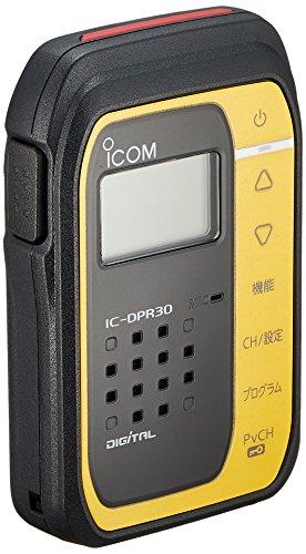 アイコムデジタル簡易無線(登録局)1WタイプメタリックイエローIC-DPR30