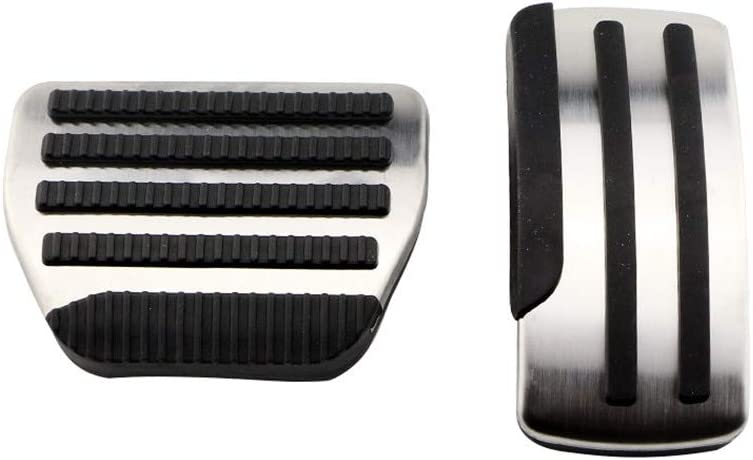2PCS Car Max 42% OFF Max 62% OFF Foot Pedal Pads Steel MoreChioce Accelerator Stainless