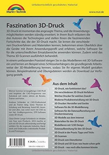 Faszination 3D Druck – Alles zum Drucken, Scannen, Modellieren - 2