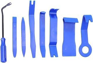 Garneck 8 peças de ferramenta de acabamento automático, durável, prática, portátil, remoção de áudio, ferramenta de remoçã...