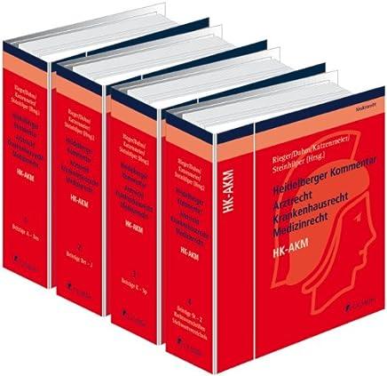 Heidelberger Kommentar Arztrecht Krankenhausrecht Medizinrecht - HK-AKM