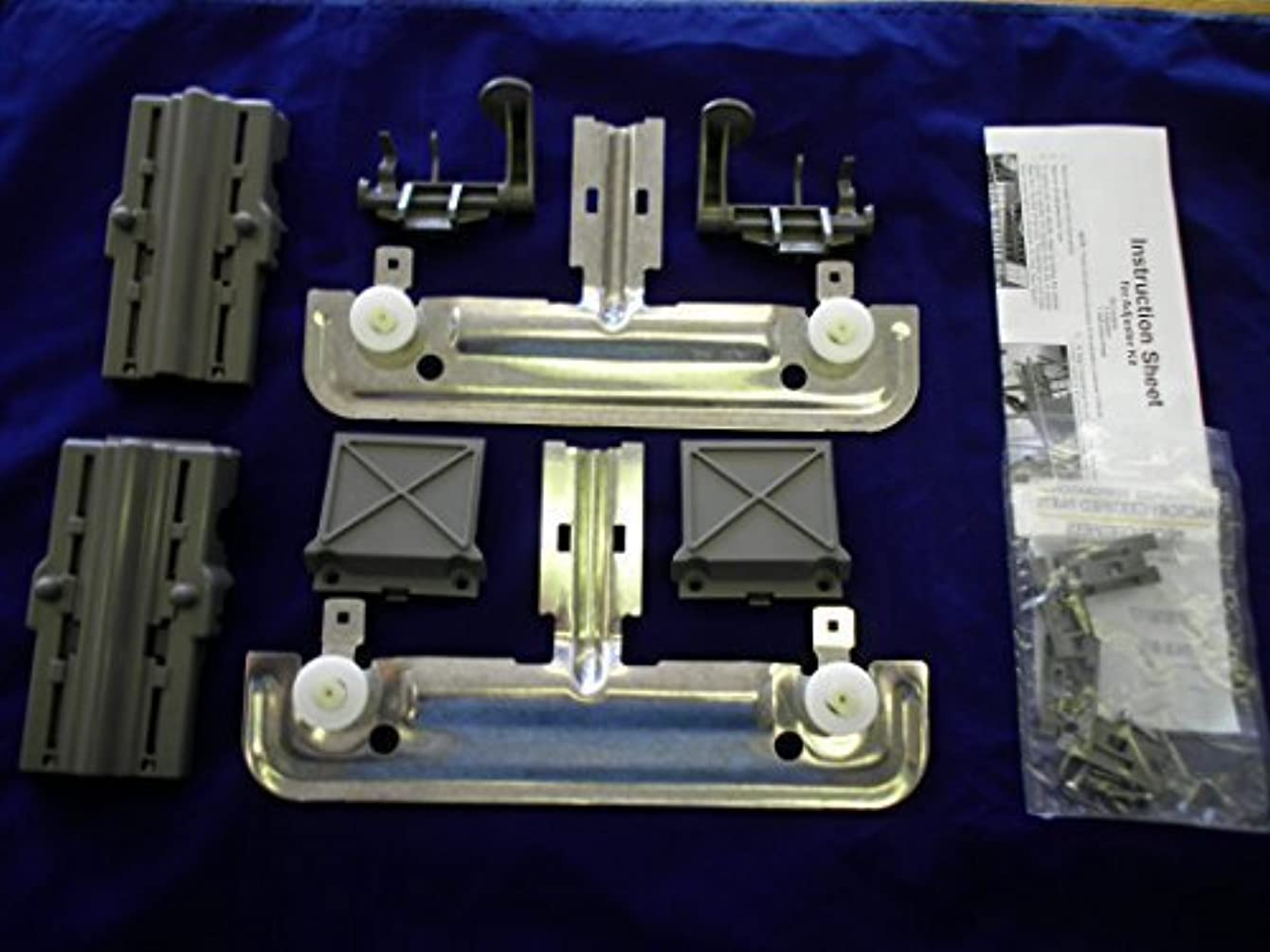 W10712395 RACK ADJUSTER KIT FOR KITCHENAID WHIRLPOOL AND JENN-AIR DISHWASHERS REPLACES PART NUMBER W10350375 COMPLETE KIT REPLACES BOTH SIDES, Model: W10712395, Tools & Outdoor Store