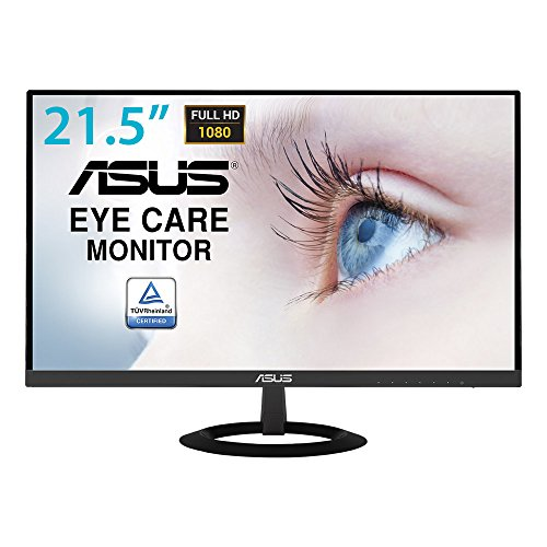 "ASUS VZ229HE LED Display 54,6 cm (21.5"") Full HD Plana Mate Negro - Monitor (54,6 cm (21.5""), 1920 x 1080 Pixeles, Full HD, LED, 5 ms, Negro)"