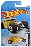 DieCast Hotwheels Bone Shaker [Mooneyes], Rod Squad 4/5 [Yellow] 161/250