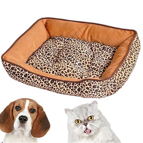 TTBD Colchonetas para Perros Sofá para Perros Lavable Cesta Cama Rayas Animales Impermeable Chihuahua Puppy Cama Cama Perros Medianos Lavable Bull Terrier,C,XL