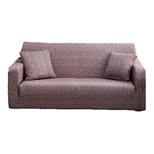 ZQWE Stretch Sofabezug Sofa Überwürfe Sofabezug Elastische Stretch Sofabezüge Sofa Abdeckung Jacquard Elastische Couchbezug (B/2,Single seat 90-140cm)