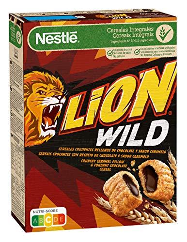 Cereales Nestlé Lion Wild - 8 paquetes de 410 g