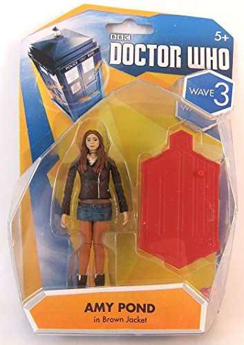 Doctor Who 10cm Wave 3 Zahlen * Amy Pond * In Braune Jacke (Versand aus UK)
