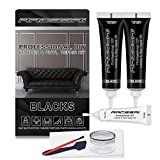 Black Vinyl Leather Repair Kit | Leather Paint Gel for Couches -...