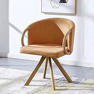 YUTRD ZCJUX Moda Minimalista Moderna Sillas de Comedor de Madera Creativo Comedor Silla Rosada cómodo sofá del Dormitorio ...