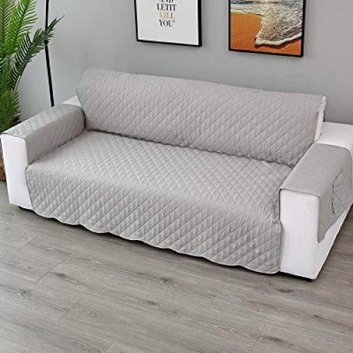Sofa Cover Protección de Muebles,Fundas de sofá acolchadas de 1/2/3 plazas, para perros, mascotas, niños, fundas antideslizantes para sofá reclinable, protector de muebles para sillón-09_Two Seat