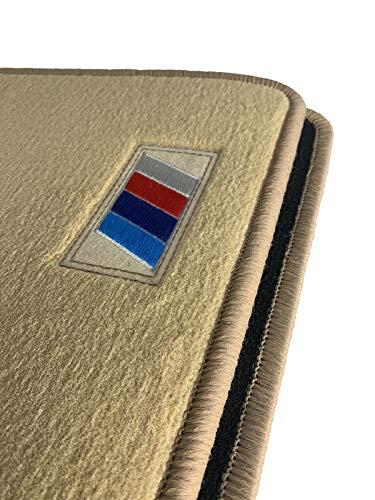 Accesorionline ></noscript> Alfombrillas Beige Velour Premium para BMW X5 1999-2007 A Medida...
