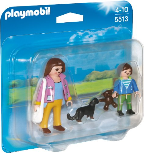 Playmobil 5513 - Duo Pack Mama mit Schulkind