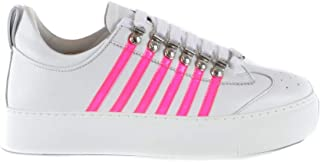 DSQUARED2 Women's SNW000706501753M1630 Multicolor Leather Sneakers
