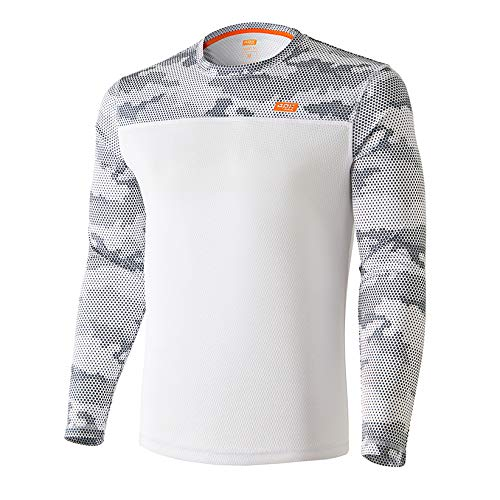 42K Running - Camiseta técnica Manga Larga 42k MIMET Winter White M