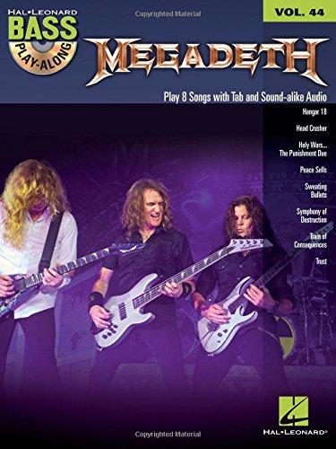 Megadeth: Bass Play-Along Volume 44 (Hal Leonard Bass Play-Along)