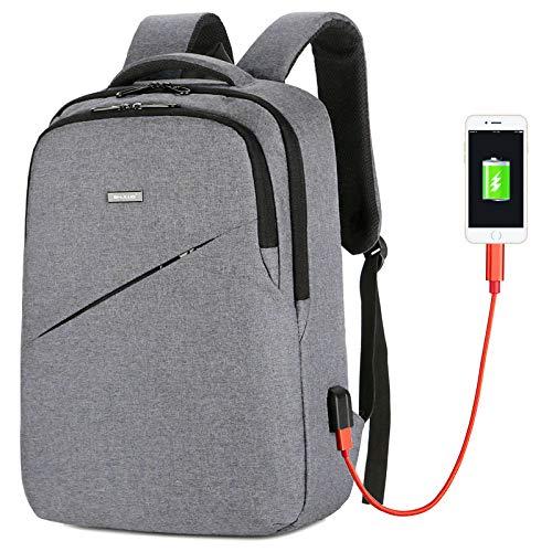 Backpack Men's Casual Men's Student Schoolbag Korean Fashion Youth Computer Bag Business Men's Bag Backpack