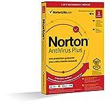 Norton Antivirus Plus 2021   1 PC   Gestion Mots de Passe, 2 GO Stockage Cloud   1 An   PC/Mac