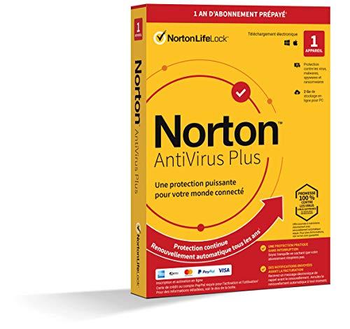Symantec Norton ANTIV Plus 2GB FR 1US 1 DE Amazon