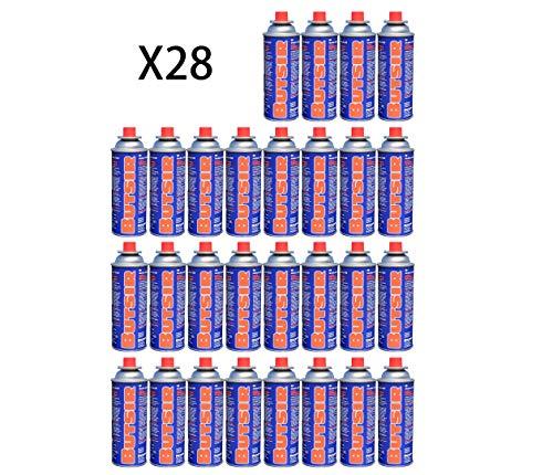 Butsir Gas de 227Gr Pack, Multicolor, 28 x Cartucho B-250