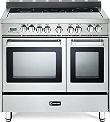 in budget affordable Verona VEFSEE365DSS36 Stainless steel electric two-component convection oven
